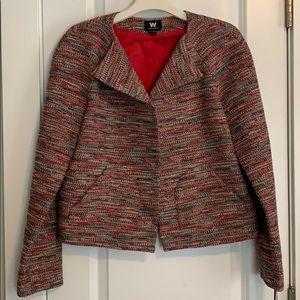 NWT W By Worth Tweed Jacket